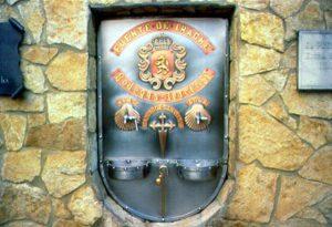 Fontane Social: la Fontana del Vino di Santiago de Compostela